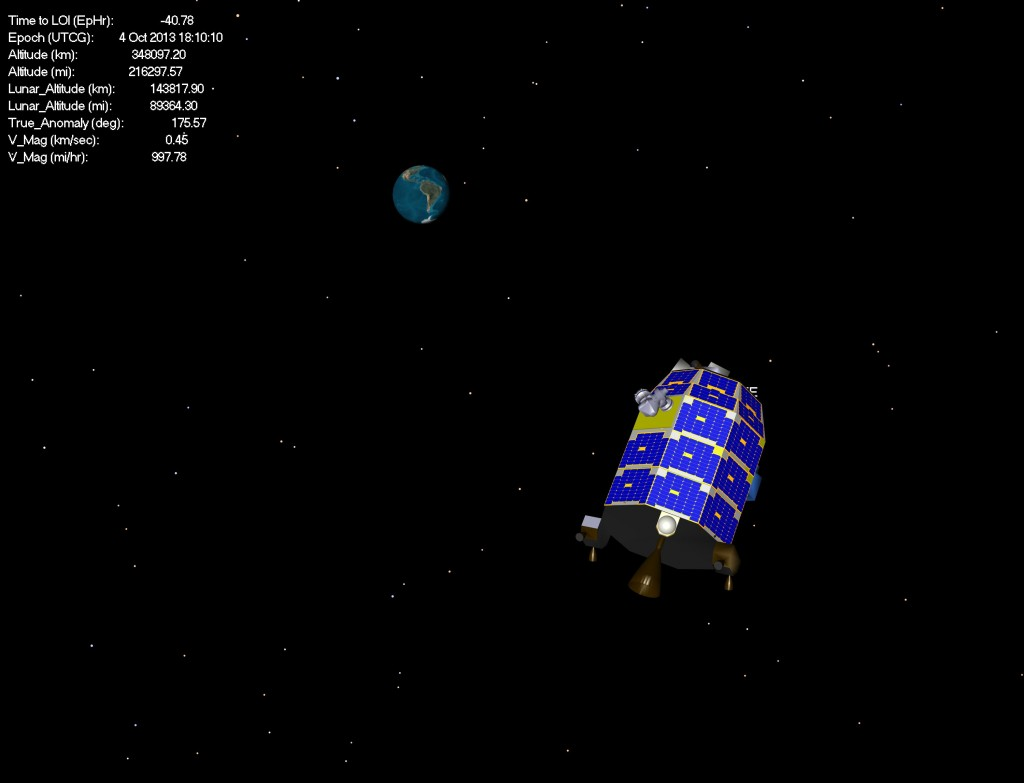 ladee earth