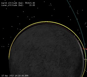 Descent Orbit Initiation to Peri (click to zoom)
