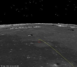 Chang'e 3 Landing Site,  (click to zoom)